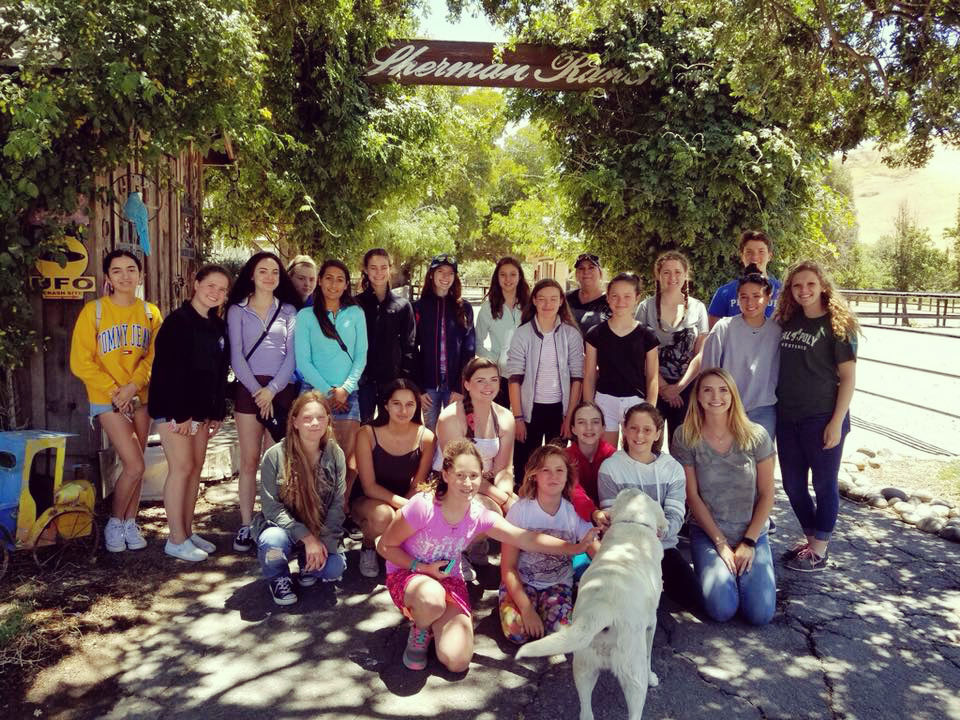 Sherman Ranch welcomes visitors from the Bay Area Equine Vet Camp