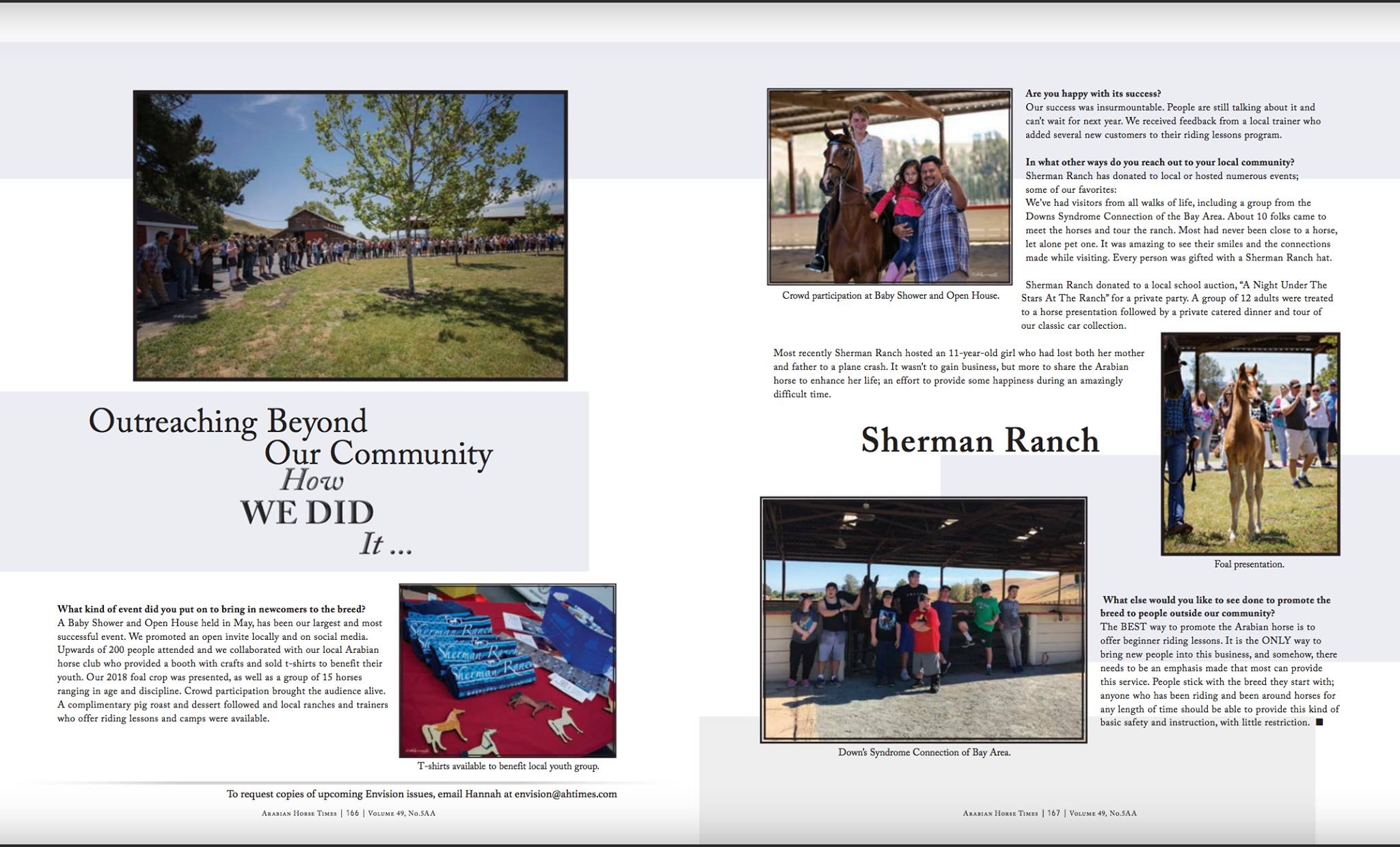 Sherman Ranch Outreach