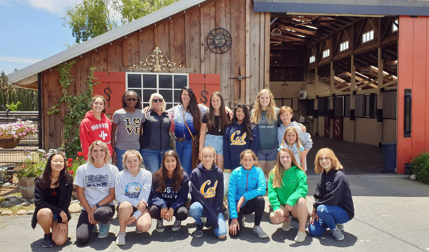 Bay Area Equine Vet Camp at Sherman Ranch